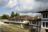 Landscape with houses in Tryavna, Bulgaria — Stock Photo