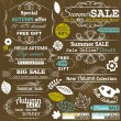 Set of special sale offer labels and banners, vector — Stock Vector #51115207