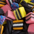 Close up Licorice Allsorts — Stock Photo #41288463
