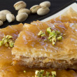 Close Up of Baklava with Pistachios — Stock Photo