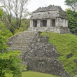 Classic Maya temple in Palenque — Stockfoto