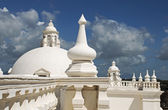Cathedral roof with cupolas — Stock Photo