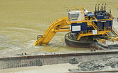 Dredging in the Panama Canal — Stock Photo