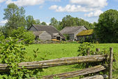 Old farm in Eastern Canada — Stock Photo