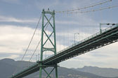 Lions gate bridge suspension — Photo