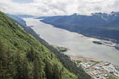 Gastineau Channel in Juneau, Alaska — Stock Photo