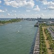 City of Montreal harbor entrance — Stock Photo #51345167