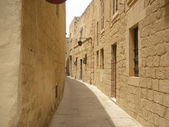Mdina's street in Malta — Stock Photo