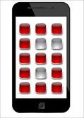 Numerico mobile — Foto Stock