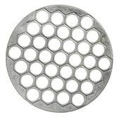 Sottopentola metallo per la tavola calda, isolata su sfondo bianco — Foto Stock