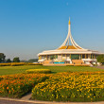 Suanluang RAMA IX public park, Bangkok, Thailand — Stock Photo #40002267