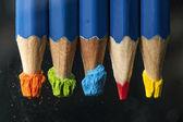 水の鉛筆 — ストック写真
