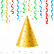 Stock Vector: Party hat