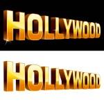 Hollywood — Stock Vector