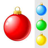 Christmas-tree — Stock Vector