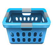 Laundry basket — Stock Vector
