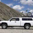 Truck mountain bike — Stock Photo