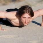 Man pushups — Stock Photo #42827607