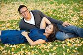 民族のカップル — ストック写真