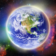 Glowing Earth — Stock Photo