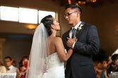Wedding dance — Stock Photo