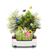Eco vehicle — Stockfoto