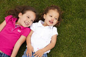 Little sisters — Stock Photo
