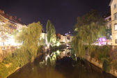 Ljubljana at the evening — Stock Photo