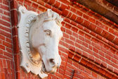 Statue of a horse — Stock Photo