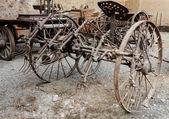 Eski tarım makine — Stok fotoğraf