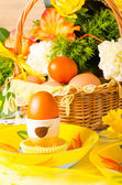 Ester table decoration — Stock Photo