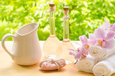 Aromatic soap for bath — Stock Photo