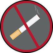 Non fumare — Vettoriale Stock