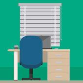 Room design — Stock Vector