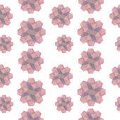 Pink Geometric Shapes Texture — Wektor stockowy