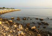 Coast in Privlaka — Stock Photo