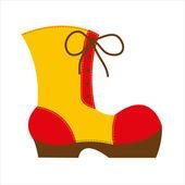 Big shoe — Stock Vector
