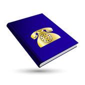 Contact book — Stock Vector