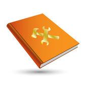 Setting book — Stock Vector