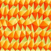 Triangular autumn background — Stock Vector