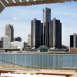 Stock Photo: Detroit Skyline