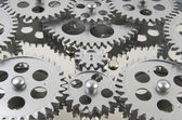 Gears Interlocked Together — Stock Photo