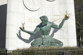 Spirit Of Detroit Statue — 图库照片