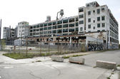 Detroit Abandoned Automotive Factory — Stock Photo