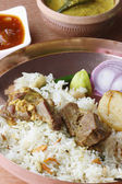 Mangsherkari is a spicy mutton curry from Bengal. — Stock Photo