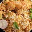 Постер, плакат: Hyderabadi Biryani A Popular Chicken or Mutton based Biryani
