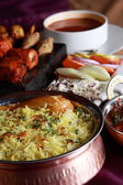 Hyderabadi Biryani - A  Popular Chicken or Mutton based Biryani — Stock Photo