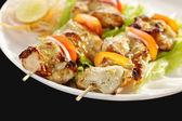 Kebab Platter — Stock Photo