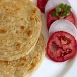 Parotta, Indian Flat Bread. — Stock Photo #49827055