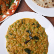 Malabar green peas curry is dish from kerala. — Stock Photo #49828131